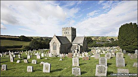 Aveton Gifford church