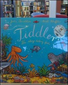 Tiddler book in library