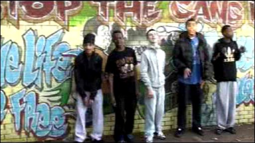 Students from Willows High School in Cardiff in their award winning video