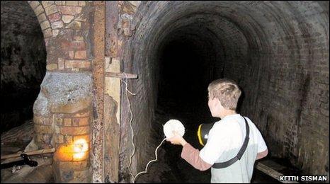 Ramsey underground tunnels