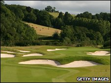 Ryder Cup course at Celtic Manor