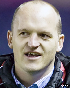 Scotland backs coach Gregor Townsend