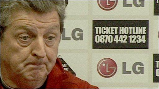 Fulham manager Roy Hodgson
