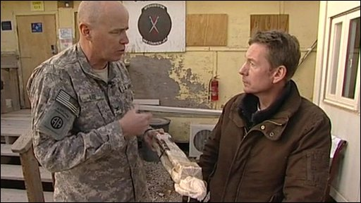 Col Mark Lee and Frank Gardner