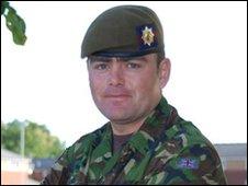 Lance Corporal Darren Hicks
