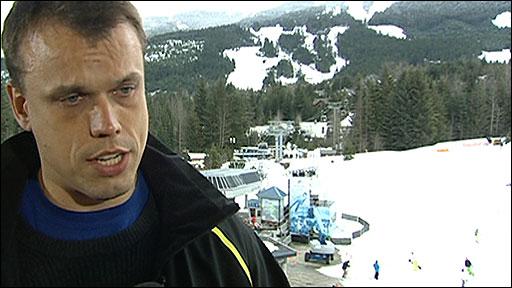 BBC commentator Colin Bryce