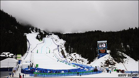 Bad weather at Whistler