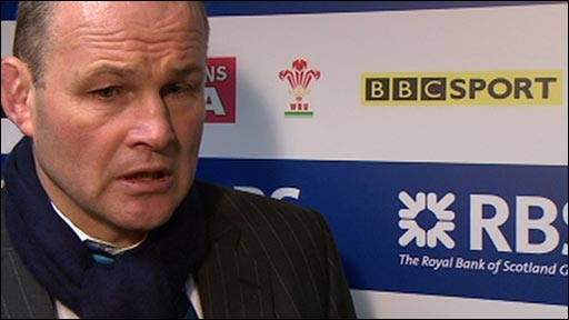 Scotland coach Andy Robinson 