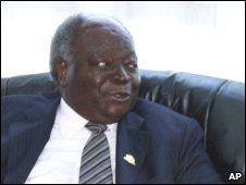 President Mwai Kibaki, file pic