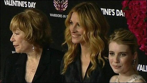 Shirley Maclaine, Julia Roberts and Emma Roberts