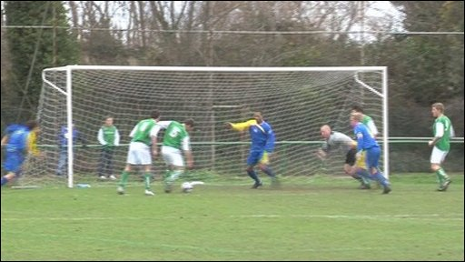 Football: Guernsey v Hertfordshire