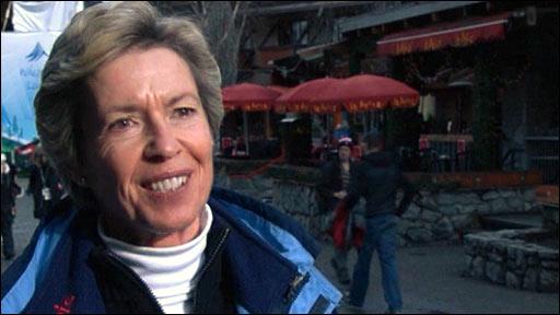 Female ski jumping campaigner Deedee Corradini
