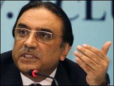 Pakistan President Asif Ali Zardari