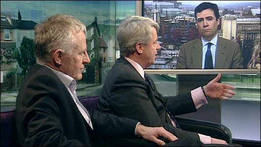 Health spokesmen on the Politics Show