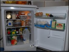 The court heard the fridge inside Khyra's home was well-stocked