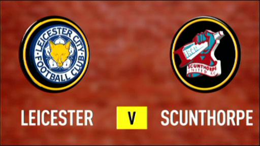 Leicester 5-1 Scunthorpe