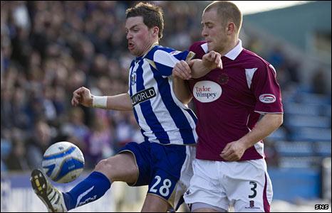 Kilmarnock striker Chris Maguire and St Johnstone defender Danny Grainger