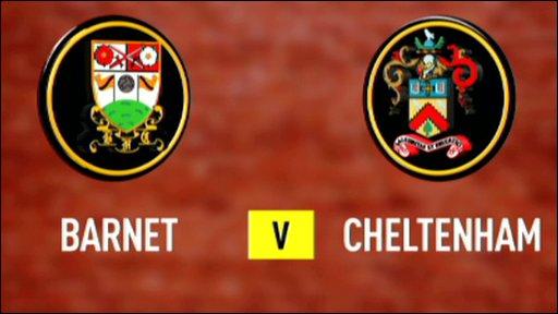 Barnet 1-1 Cheltenham