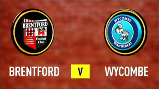 Brentford 1-1 Wycombe