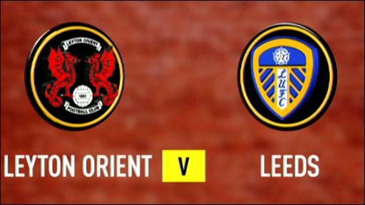 Leyton Orient 1-1 Leeds