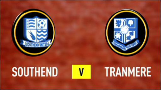 Southend 1-1 Tranmere