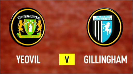 Yeovil 0-0 Gillingham