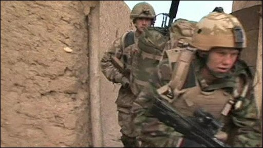 Troops in Afghanistan