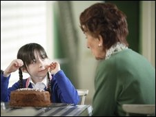Dotty and grandmother Dot Branning in EastEnders