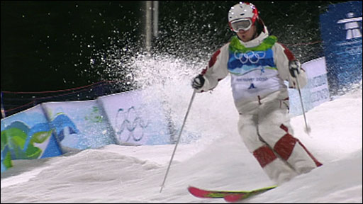 Bilodeau wins MOGULS gold for Canada