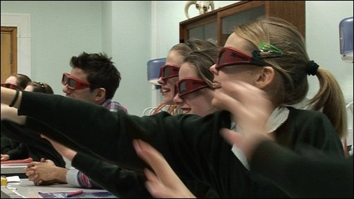 School takes lessons in 3D