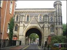 Abbey Gateway in Reading