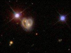 The heart shaped galaxy