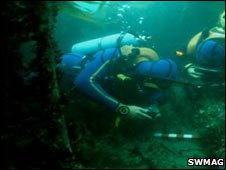 SWMAG divers off Salcombe