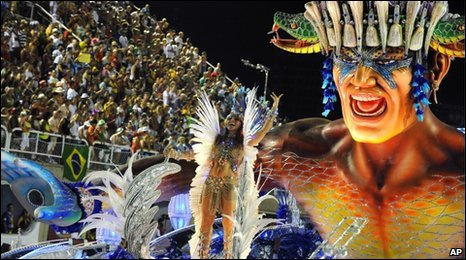 The Beija Flor samba school