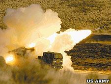 Himars rocket system