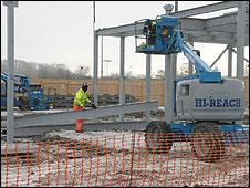 Bbc New Basildon Sporting Village Begins To Take Shape