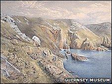 South coast cliffs by Peter Le Lievre
