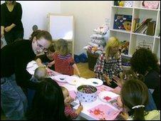Baby language class