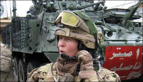 Lt Col Jennie Carignan