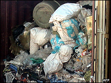 Waste sent to Brazil from Swindon