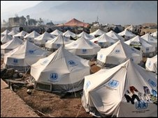 A camp in Pakistan