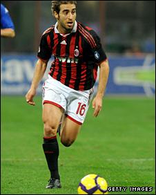 AC Milan Mathieu Flamini