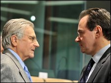 Trichet and Papaconstantinou