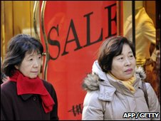 Japanese shoppers