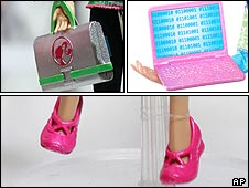 Tech support Barbie's accessories