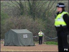 The scene of the attack in Edlington