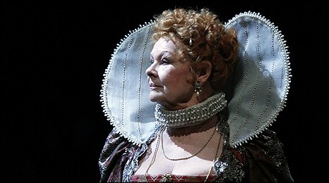 Dame Judi Dench as Titania. Photo: Nobby Clark