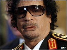 Colonel Muammar Gaddafi, June 2009
