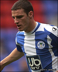 Wigan midfielder Jason Koumas