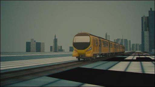 Rail hub promo CGI